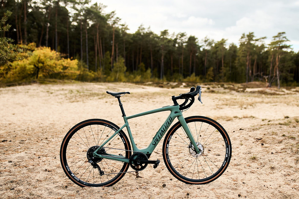 Specialized Turbo Creo SL Comp Carbon EVO in the field