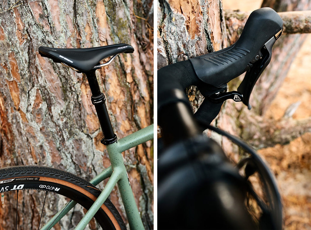 Specialized Turbo Creo SL Comp Carbon EVO and its X-Fusion Manic Dropper Post