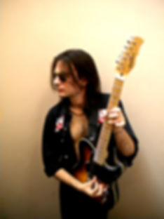 with my Fret King JD guitar