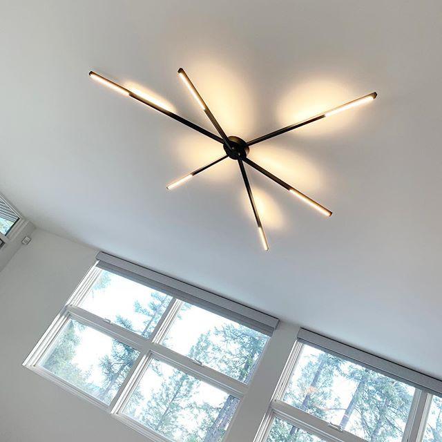 Some fun light fixture installs •_#moder