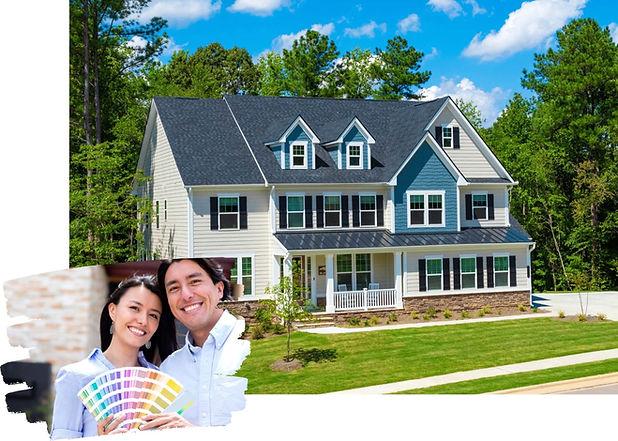 Homeowners - Choose paint color - Exteri
