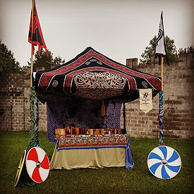All set up and ready for the final weekend at @evermorefaire it is going to be a great wee