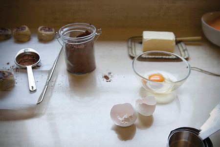"""""""Yes dear – this really is a chocolate cake"""" (walnuts, coconut, almond butter, eggs, banana, honey,"""