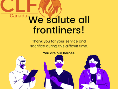 Front line workers, You are our heroes. Thank you for your service.