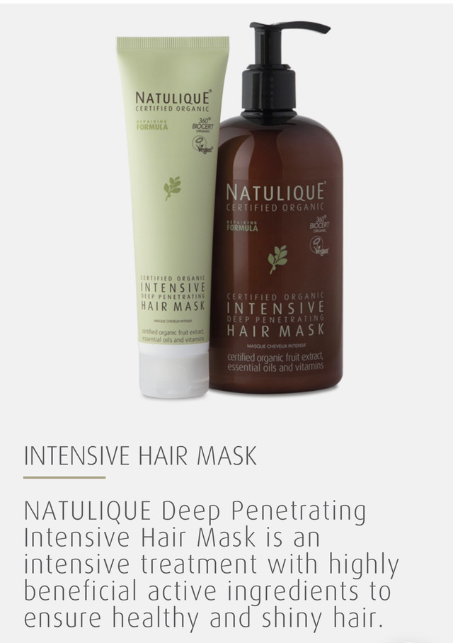 Deep Penetrating Intensive Hair Mask. Added Vitamin B5 in ingredients strengthens your hair strands