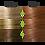 Thumbnail: Naturigin 7.4 MEDIUM BLONDE RED Permanent ORGANIC Hair Color Dye
