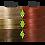 Thumbnail: Naturigin 7.55 MEDIUM BLONDE DEEP RED Permanent ORGANIC Hair Color Dye