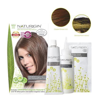 Naturigin 4.6 COPPER BROWN Permanent ORGANIC Hair Color Dye