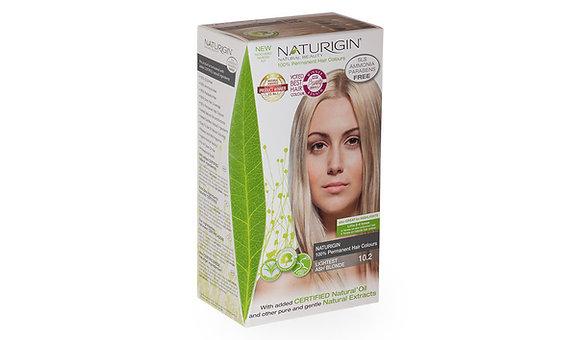 Naturigin 10.2 LIGHTEST BLONDE ASH Permanent ORGANIC Hair COlor Dye
