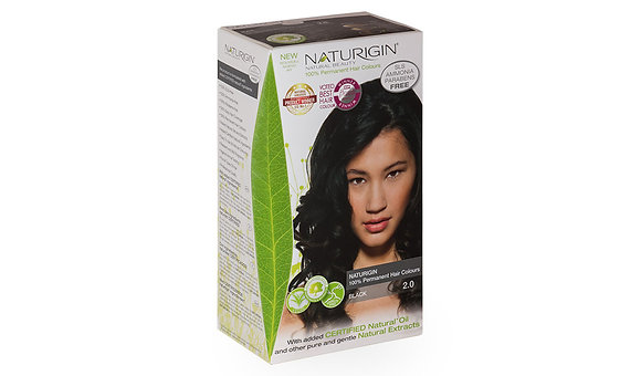 Naturigin 2.0 BLACK Permanent Organic Hair Color dye