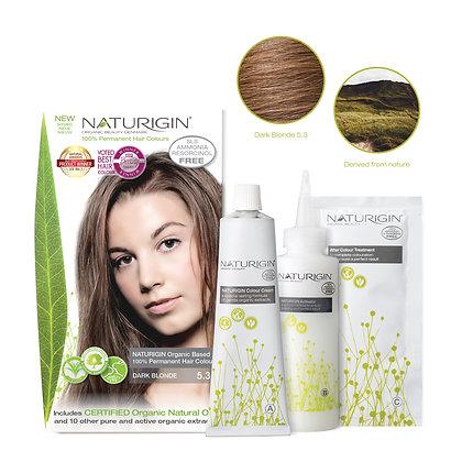 Naturigin 5.3 DARK BLONDE Permanent ORGANIC Hair Color Dye