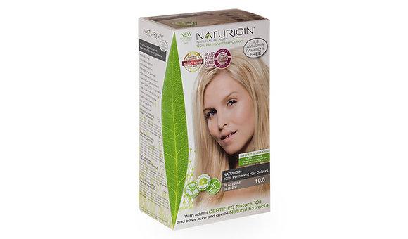 Naturigin 10.0 PLATINUM BLONDE Permanent ORGANIC Hair Color Dye