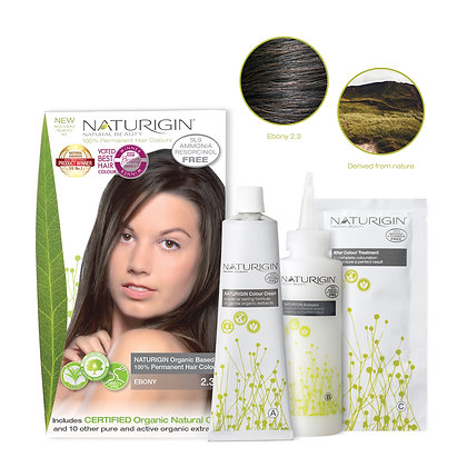 Naturigin 2.3 EBONY Permanent Organic Hair Color Dye