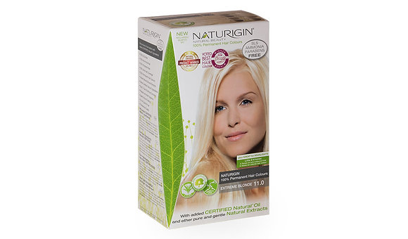 Naturigin 11.0 EXTREME BLONDE Permanent ORGANIC Hair Color Dye