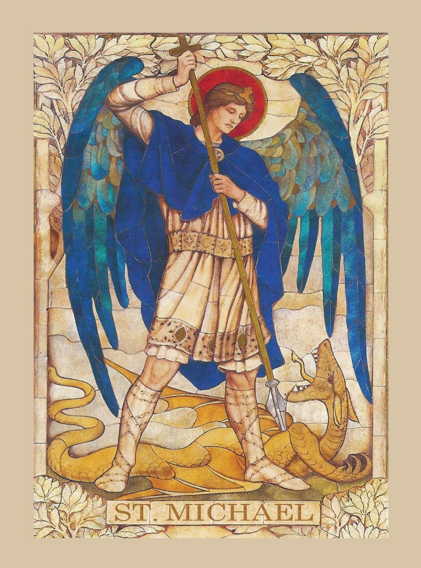 Prayer to St_ Michael the Archangel in D