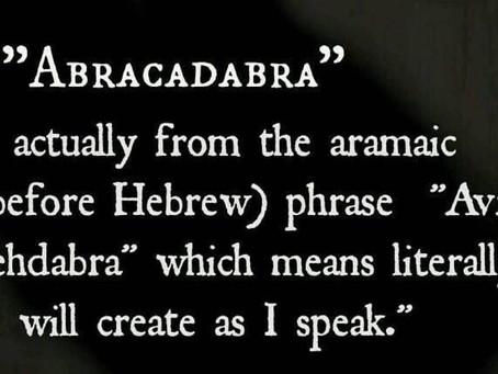 Au commencement était le Verbe ಈ Conscience sur le pouvoir de la parole