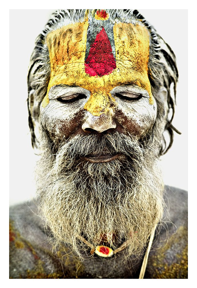 Série Sadhus, des photographies de Manu