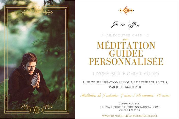 meditation guidee enregistree julie mangaud