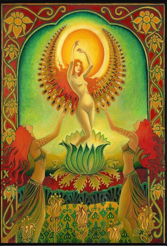 Mère Isis Solstice d'été déesse sola