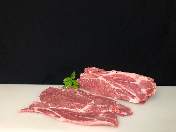 churrasco de cerdo