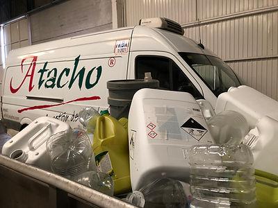 reciclaje de plasticos atacho