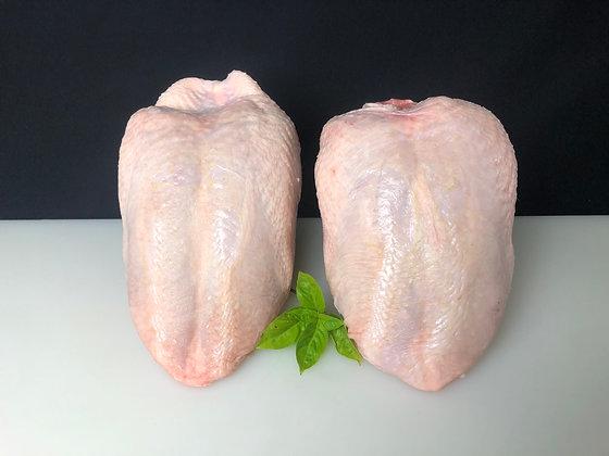 pechuga de pollo rasa
