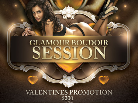 Valentines Session Promotion - Signature Beauty Gallery