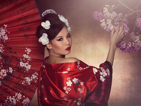 Heart of the Geisha Asian Bridal Session - Signature Beauty