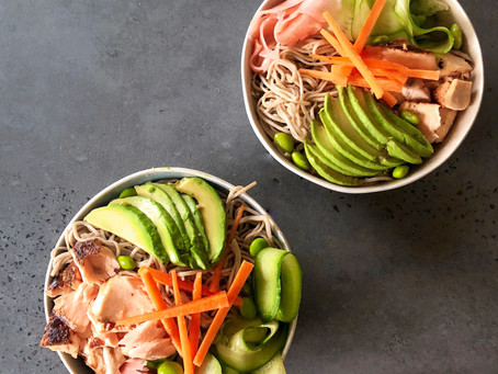 Miso Salmon Nourish Bowl
