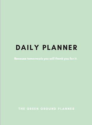 Green Ground Health Planner