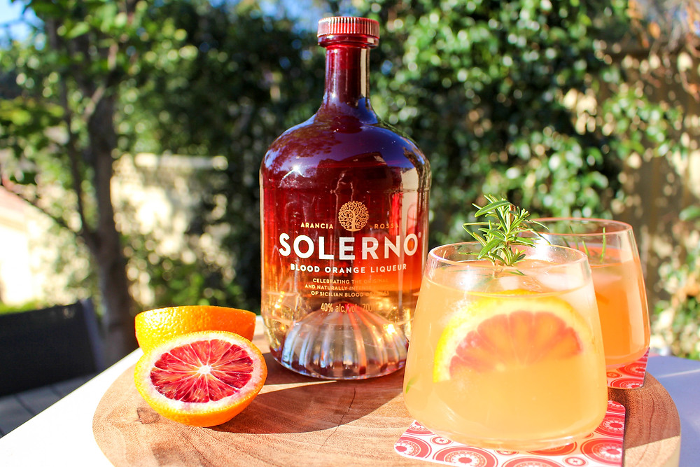 Solerno Blood Orange Liqueur reviews by Mr Neo Luxe and Cocktail Recipe