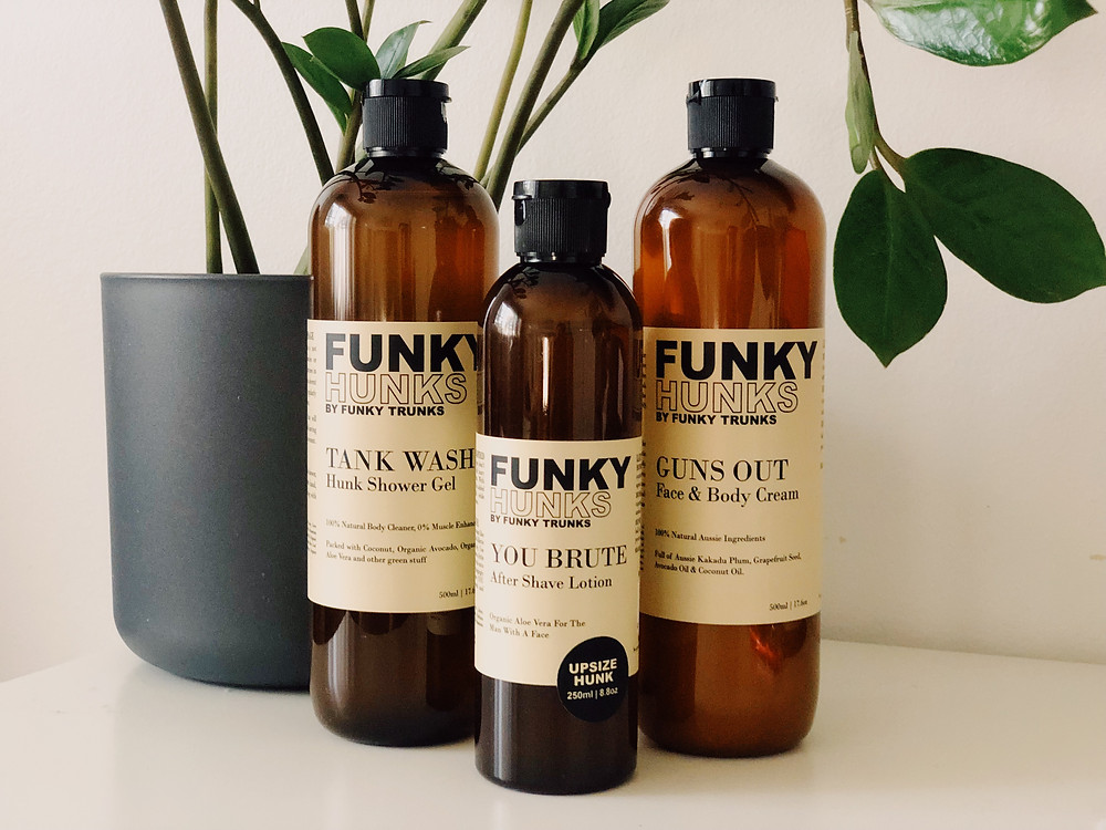 Funky Hunks Skincare by Funky Trunks reviewed by Mr Neo Luxe