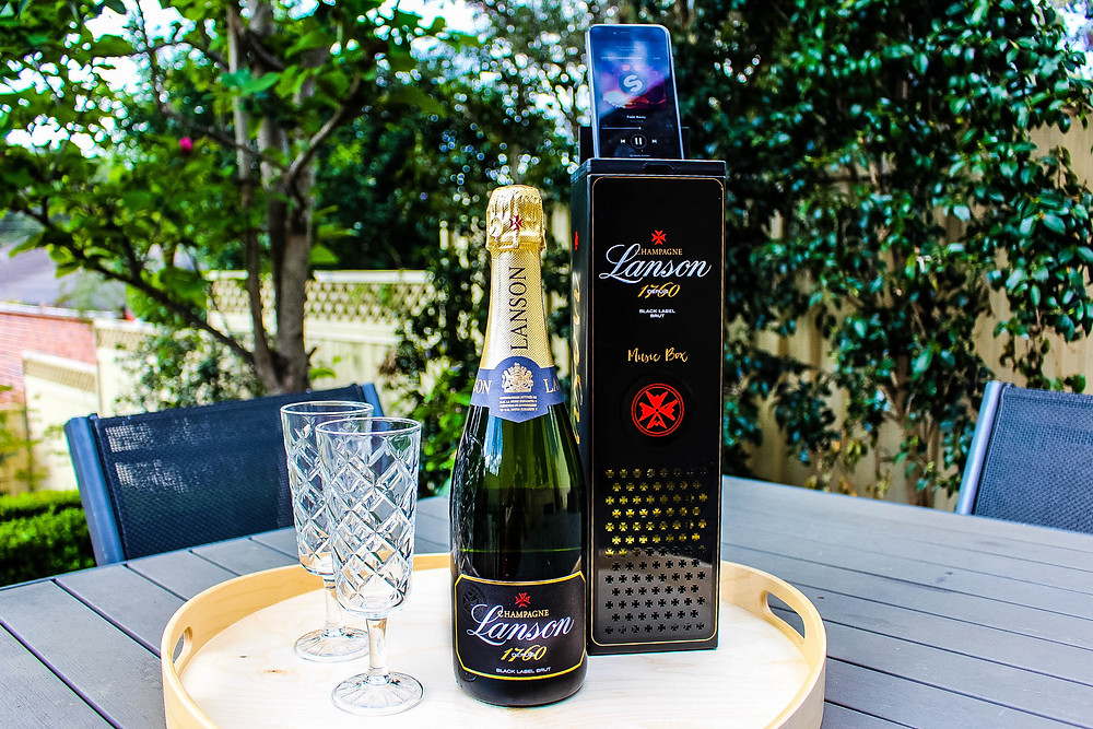 Champagne Lanson Limited Edition Music Box review by Mr Neo Luxe