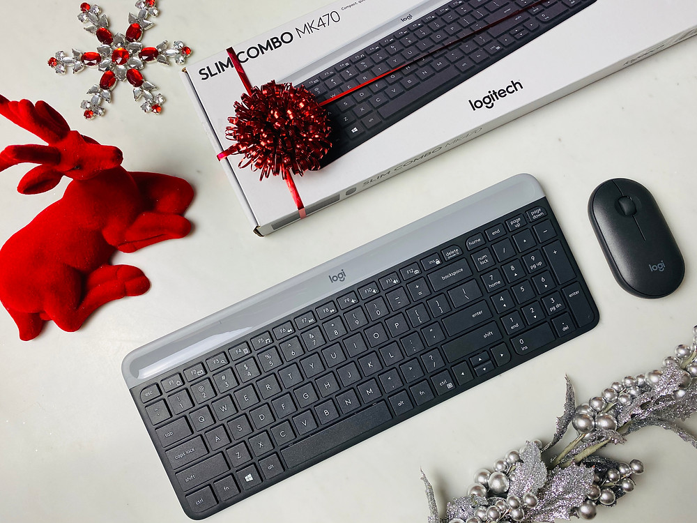 Mr Neo Luxe Christmas Gift Guide Logitech MK40