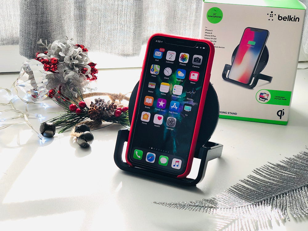 Mr Neo Luxe review Belkin Boost Up Wireless Charging Stand