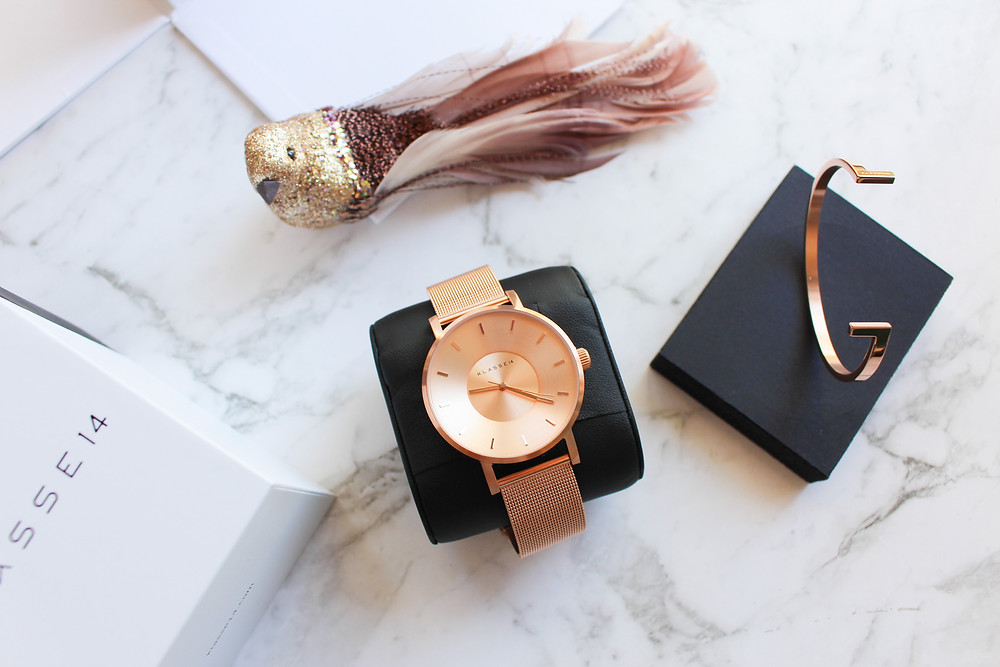 Mr Neo Luxe Klasse14 Watch Volare Rose Gold
