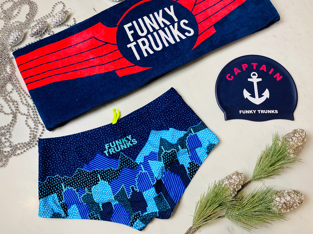 Funky Trunks For Christmas by Mr Neo Luxe