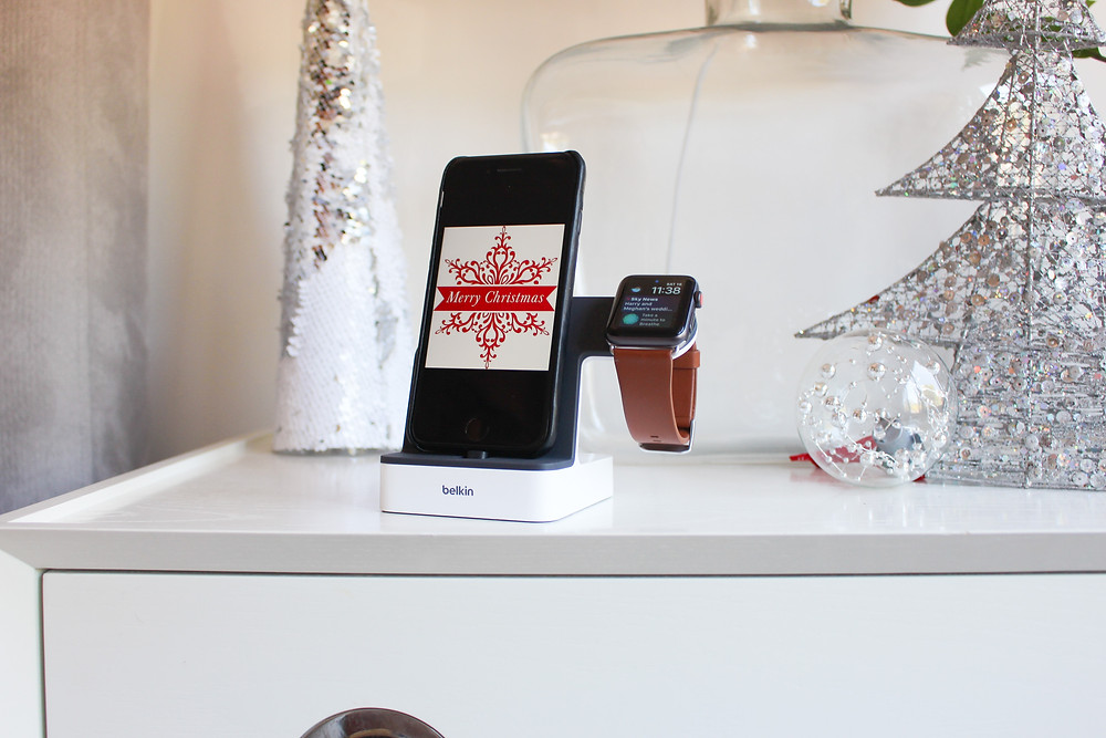 Mr Neo Luxe Christmas Gift Guide Belkin PowerHouse Charge Dock for Apple Watch + iPhone