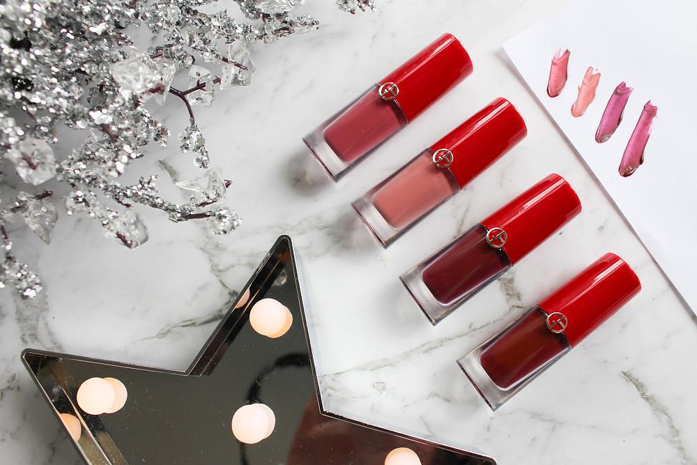 Mr Neo Luxe Giorgio Armani Lip Magnet Liquid Lipstick