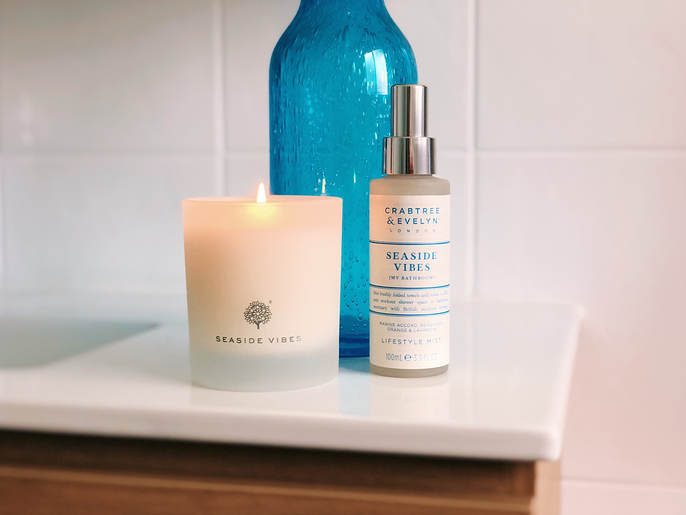 Crabtree & Evelyn Seaside Vibes Lifestyle Mist Candle review by Mr Neo Luxe