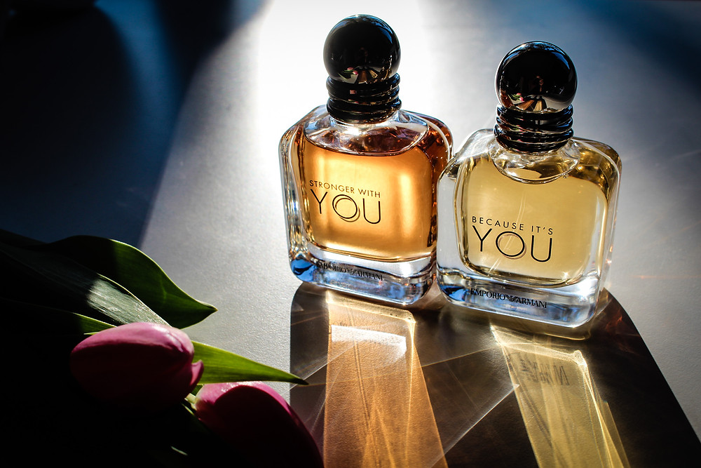 Emporio Armani Stronger with You & Because it's You fragrance reviews Mr Neo Luxe