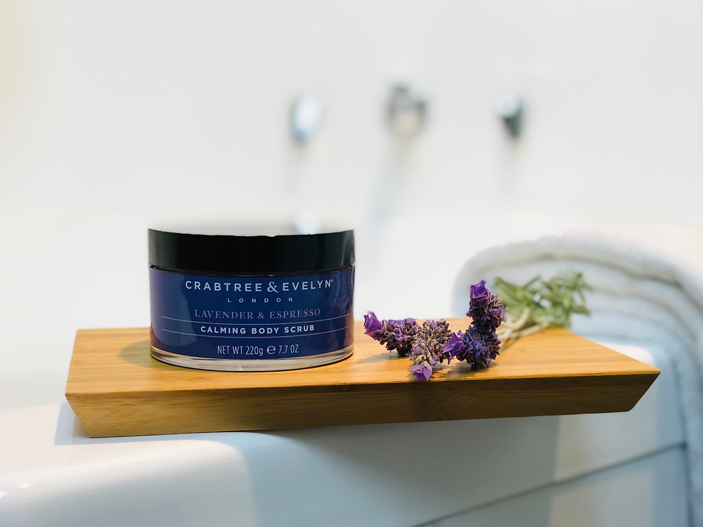 Crabtree & Evelyn Lavender & Espresso Calming Body Scrub reviewed by Mr Neo Luxe