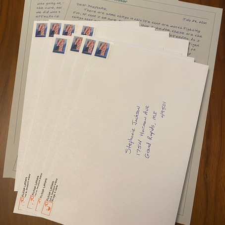 The Ever Growing Uniqueness of Getting Letters in the Mail