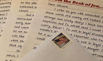 Fiction Letters Serialized Short Stories