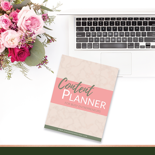Content Planner for Busy Entrepreneurs