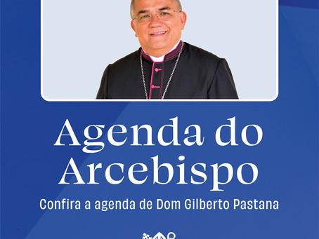 Agenda de setembro do Arcebispo Dom Pastana