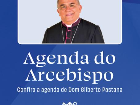 Agenda de outubro do Arcebispo Dom Pastana