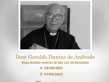 Nota de Pesar Dom Geraldo Dantas de Andrade