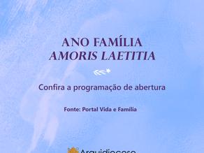 Abertura Ano Família Amoris Laetitia