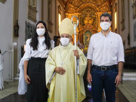 Dom Gilberto preside missa em Ação de Graças aos 409 anos de São Luís